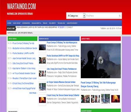 wartaindo website berita terkini