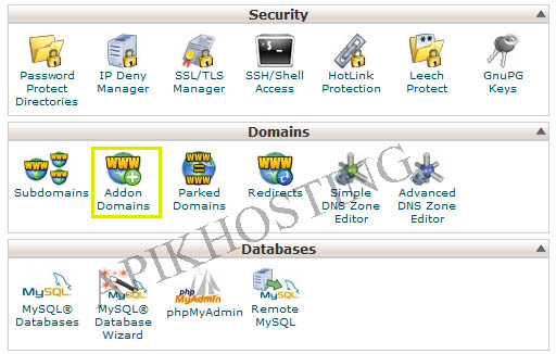 add domain apikhosting